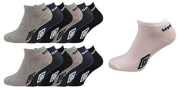 Pack de 12 pares de calcetines Umbro tobilleros a buen precio