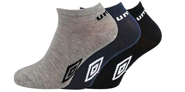 Pack de 12 pares de calcetines Umbro tobilleros en oferta