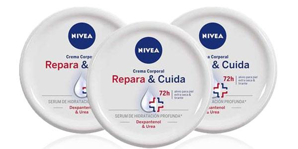 Pack 3 cremas Nivea Repara y Cuida al mejor precio en Amazon