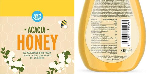 Pack x4 Miel de acacia Amazon Happy Belly chollo en Amazon