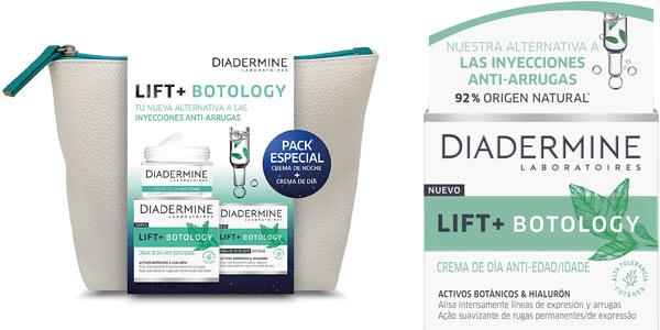 Pack Diadermine Lift + Botology cremas de día y noche con neceser al mejor precio