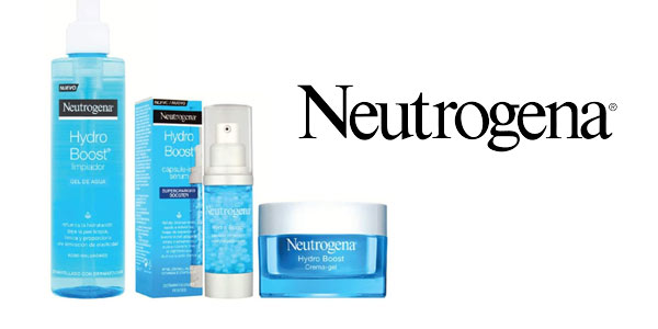 Pack Neutrogena Hydro Boost con gel, serum y crema barato en Amazon