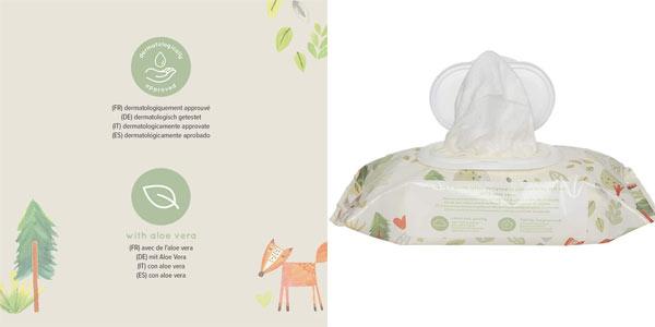Pack toallitas humedas bebe Mama Bear Fresh en oferta