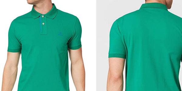 Polo Gant Contrast Collar Rugger barato