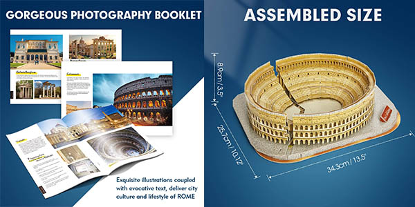 puzle Coliseo Romano de National Geographic chollo