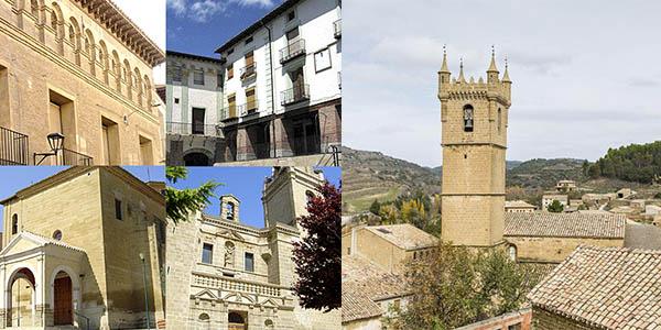 ruta y escapada a la comarca de las Cinco Villas con alojamientos económicos
