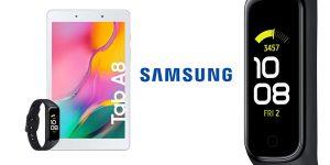Samsung Galaxy Tab 8 + Galaxy Fit 2 barata