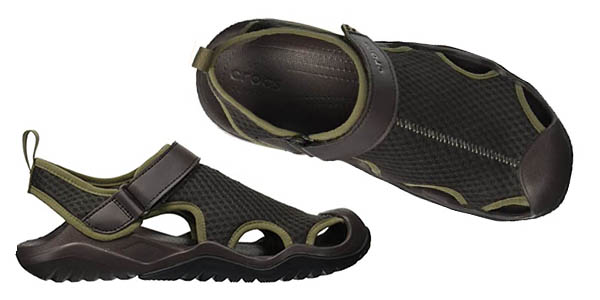 sandalias Crocs Swiftwater Mesh Deck a precio de chollo