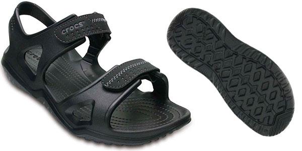 Sandalias Crocs Swiftwater River para hombre baratas