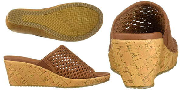 Sandalias Skechers Beverlee-Golden Sky para mujer baratas