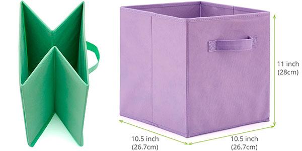 Set de 4 cajas para almacenar juguetes en oferta