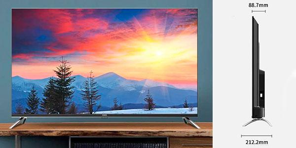"Smart TV CHiQ U50H7A 4K UHD de 50"" con Android TV en oferta"