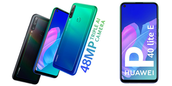 Smartphone Huawei P40 Lite E de 4 GB + 64 GB barato en Amazon