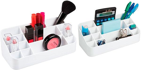 Organizador de cosméticos iDesign de 14 compartimentos barato