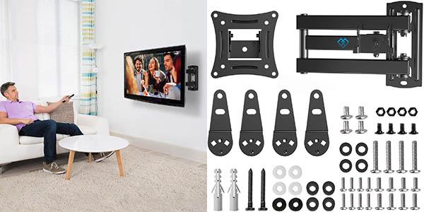 "Soporte de pared Perlesmith para TV LED hasta 42"" barato"