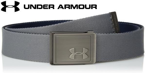 Cinturón Under Armour Men's Webbing 2.0 para hombre barato en Amazon