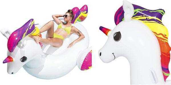 Unicornio hinchable Bestway en oferta en Amazon