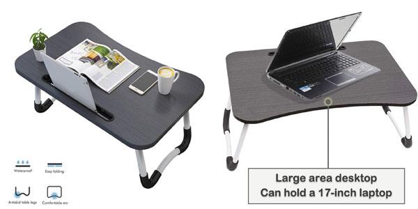 Mesa plegable para portátil Vasen en oferta en Amazon