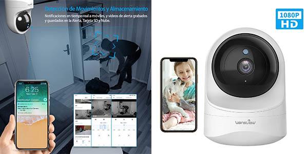 Wansview cámara IP Wifi 1080p barata
