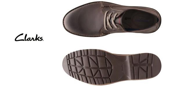Zapatos de cordones Clarks Vargo Vibe para hombre chollo en Amazon