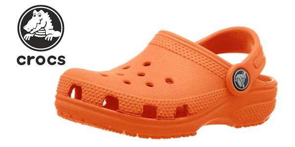 zuecos infantiles Crocs CLassic Clog baratos en Amazon