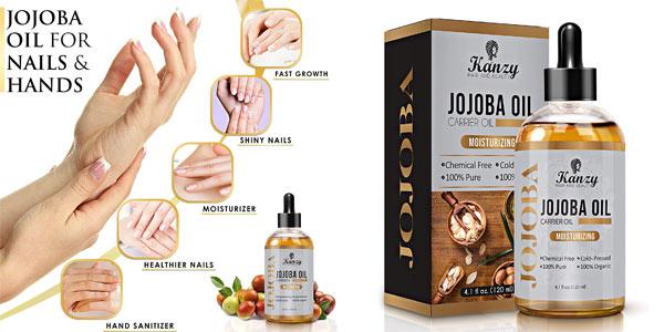 Aceite de Jojoba Bio 100% Puro Kanzy de 120 ml oferta en Amazon