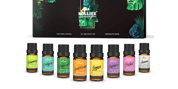 Aceites esenciales para aromaterapia Kollie baratos en Amazon