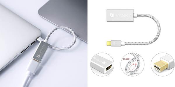 Adaptador Mini DisplayPort a HDMI iVANKY en Amazon