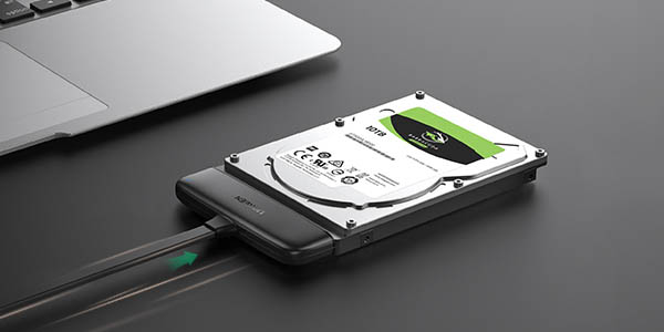 Adaptador Ugreen SATA a USB C 3.1 en Amazon