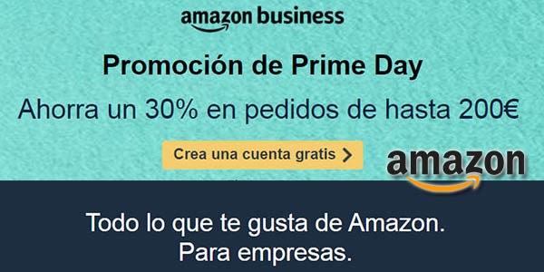 Amazon Business promoción Prime Day 2020