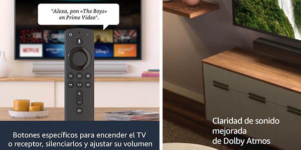 Amazon Fire TV Stick 2020 con mejor cadidad de sonido e imagen