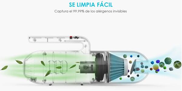 Aspirador de Coche ieGeek de 8000 Pa y 130 W oferta en Amazon