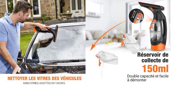 Aspirador limpiador de ventanas recargable Tacklife chollazo en Amazon con cupón de descuento