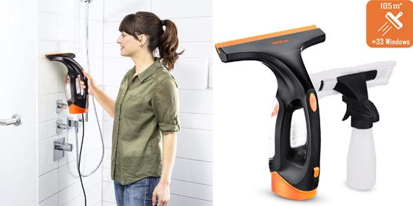 Aspirador limpiador de ventanas recargable Tacklife barato en Amazon con cupón de descuento