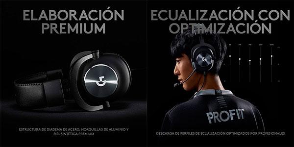 Auriculares gaming Logitech G PRO X en oferta