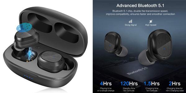 Auriculares TWS Basspal baratos en Amazon