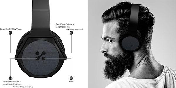 Auriculares Veenax HS3 Bluetooth con micro en oferta