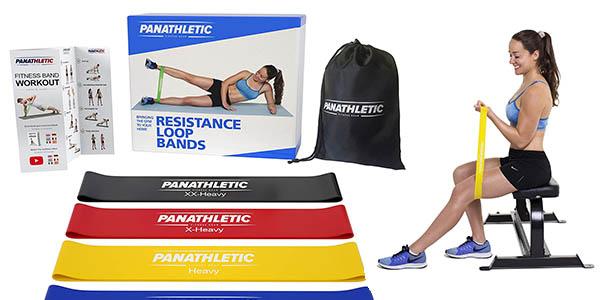 bandas de musculación elásticas Panathletic baratas