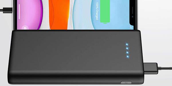 Batería externa Swey de 26800 mAh con 2 puertos USB barata