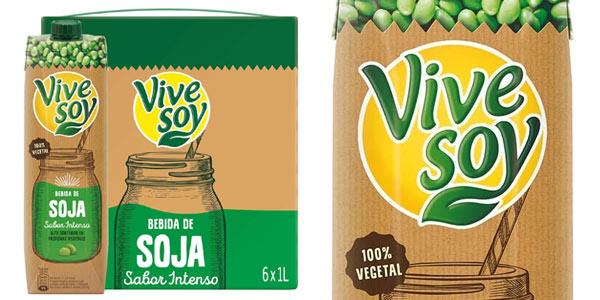 Bebida de soja sabor intenso Vivesoy barata en Amazon