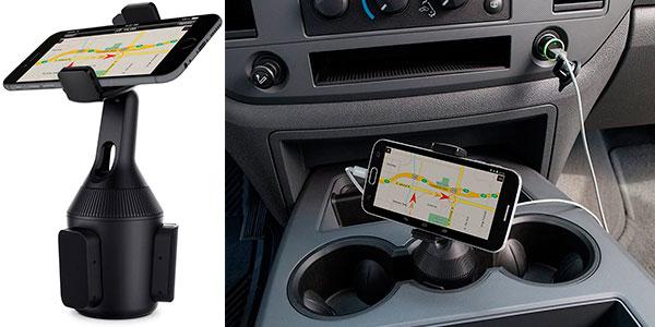 Soporte Belkin de smartphone para portavasos de coche barato