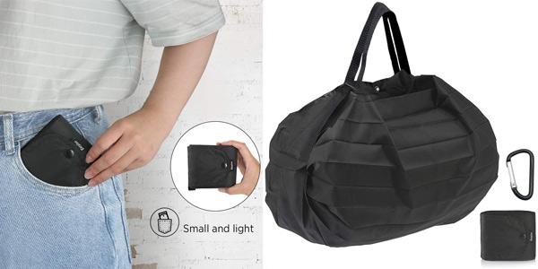 Bolsa de compra Plegable Lavable Grande EasyAcc barata en Amazon