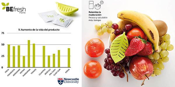 bolsas antihumedad para frutas y verduras BEFresh Home relación calidad-precio estupenda