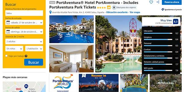 Booking pack entrada + hotel a PortAventura ofertas