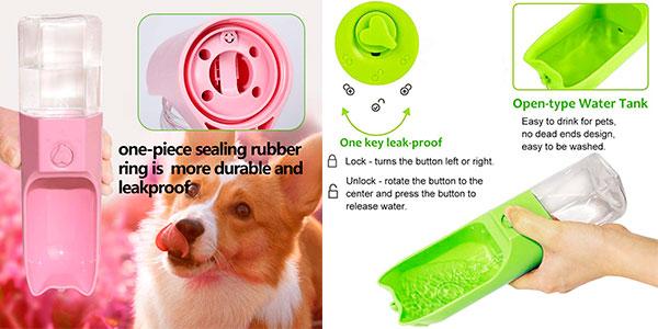Botella dispensadora de agua Suntapower de 270 ml para perros barata