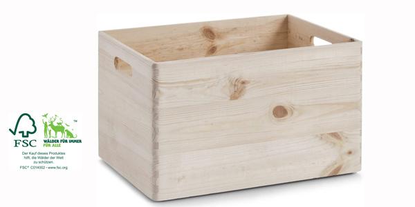 Cajón multiusos de madera Zeller 13143 barato en Amazon