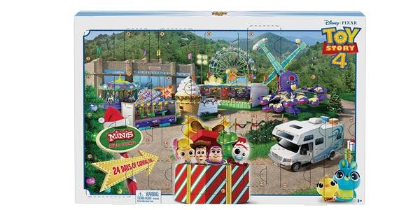 Calendario de Adviento Toy Story 4 barato en Amazon