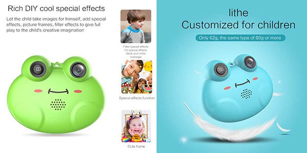 cámara digital CamKing de diseño infantil en oferta