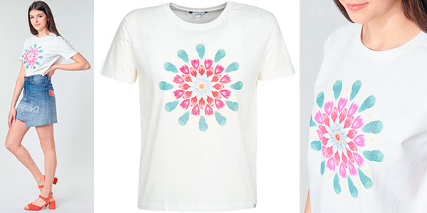Camiseta Desigual Milan para mujer barata