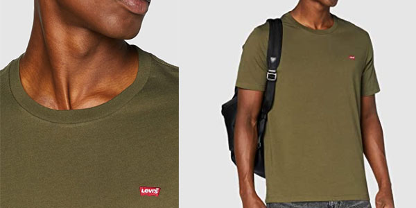 Camiseta Levi's SS Original Hm Tee en oferta en Amazon